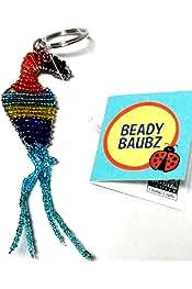 Beady Baubz Handmade in Zimbabwean Beaded Ladybug Pin
