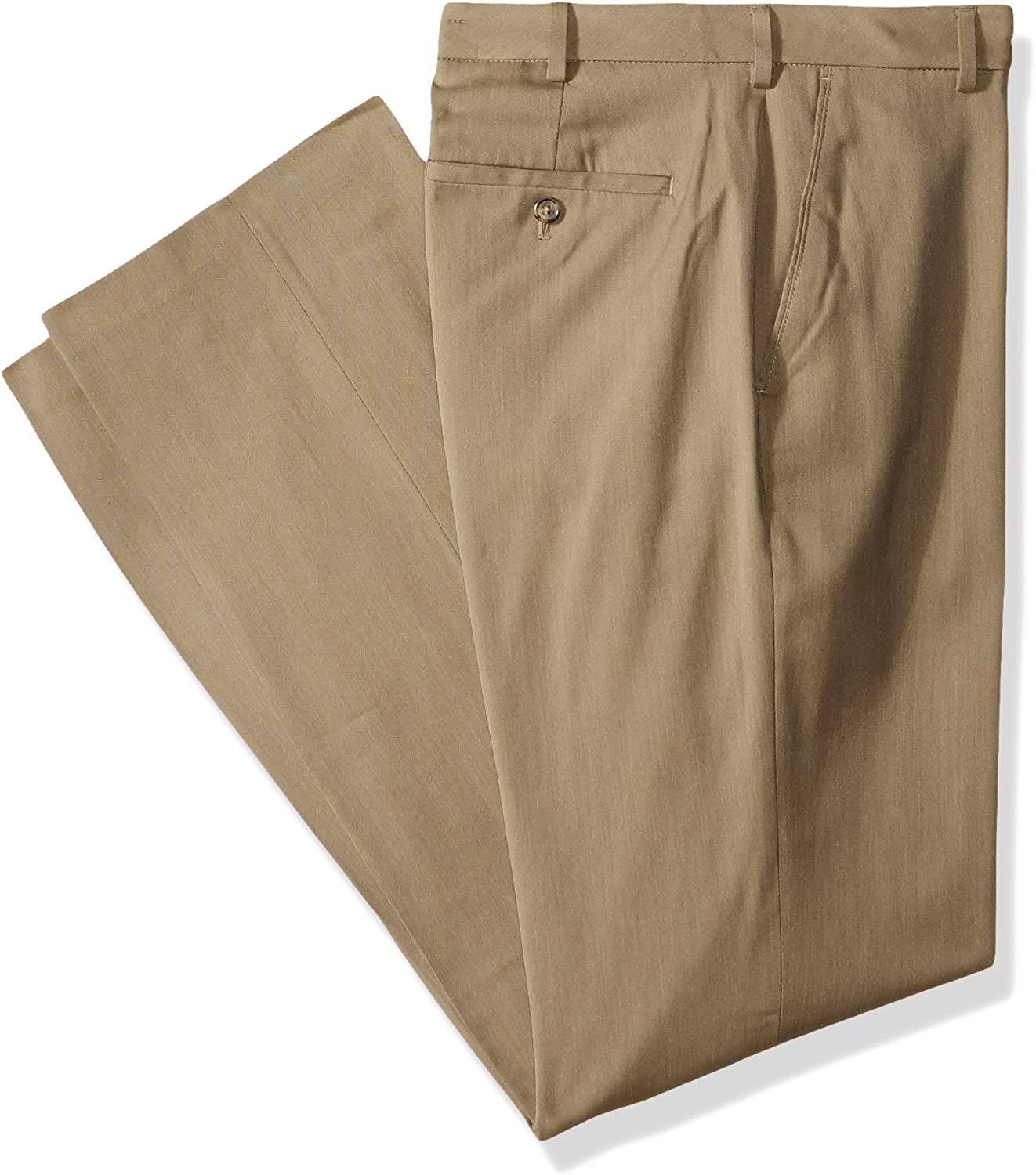 Van Heusen Men's Price reduction We OFFer at cheap prices Big and Tall Air Straight Fit Stretch Fron Flat