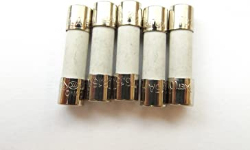 Witonics Lot de 5 8/A 250/V Fusion lente T8ah250/V T8/a 250/V 3//40,6/cm X 3//10,2/cm T8/a 250/V T8/H250/V T8h250/V cartouche en c/éramique fusibles 5/x 20/mm temps Retard