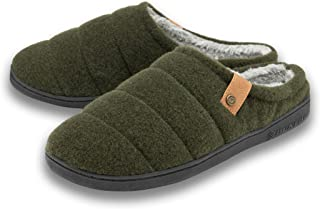 Dunlop Mens Finlay Mule Slippers MTO - Khaki - UK 11