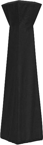 Amazon Basics Housse pour parasol chauffant de style pyramidal, Noir