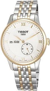 ساعة لو لوكل للرجال من الستانلس ستيل بلونين من تيسوت طراز T0064282203800