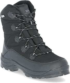 Trespass Zotos Waterproof Mens Snow Boots Warm Thermal Winter Casual Boots
