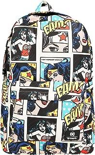 DC Comics Wonder Woman Comic Panel Print Backpack Standard