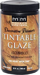 Modern Masters DP608-32 Tinting Glaze Scumble, 32-Ounce