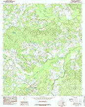 YellowMaps Shelbyville TX topo map, 1:24000 Scale, 7.5 X 7.5 Minute, Historical, 1984, Updated 1985, 26.9 x 23.1 in