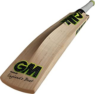 GM Cricket Unisex Adult Zelos Dxm Le Ttnow Cricket Bat - Green/Yellow/White/Black, One Size