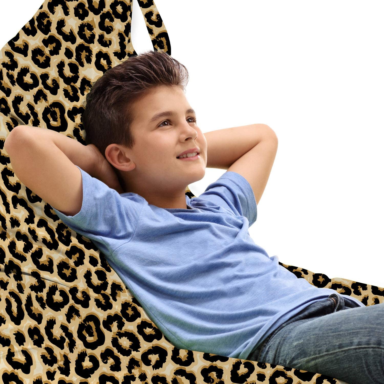 Ambesonne Leopard Inexpensive Lounger Chair Bag Brand Cheap Sale Venue Continuing Skin Animal Insp