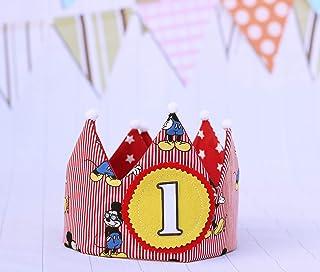 Primo compleanno corona regalo di festa per bambini