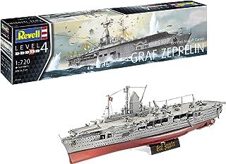 Revell GmbH Revell 05164 5164 1:720 German Aircraft Carrier 'GRAF Zeppelin' Plastic Model Kit Multicolour, 1/720