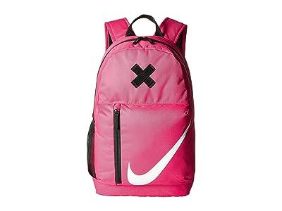 Nike Kids Elemental Backpack (Little Kids/Big Kids) (Rush Pink/Black/White) Backpack Bags