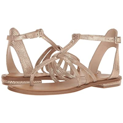 Isola Marica (Gold/Platino Shell Suede/Distressed Foil Suede) Women