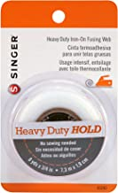 SINGER 00240 Heavy Duty Iron-On Fusing Web, Fabric Adhesive