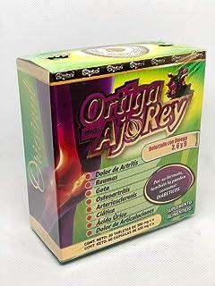 Ortiga t AJO Rey con Omega 3, 5 y 9 Suplemento Dietético Original - Producto Natural Premium