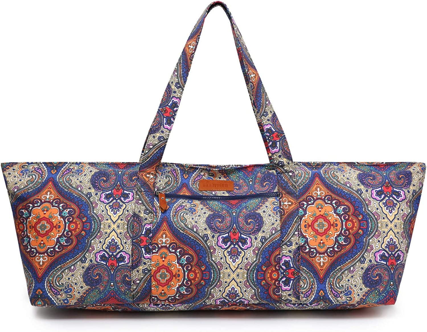 ELENTURE Large Yoga Mat Bag Tulsa Mall for 5-Inch 4-Inch Discount is also underway 3-Inch 2 1 2-I