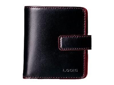 Lodis Accessories Audrey RFID Card Case Petite Wallet (Black RFID) Bi-fold Wallet