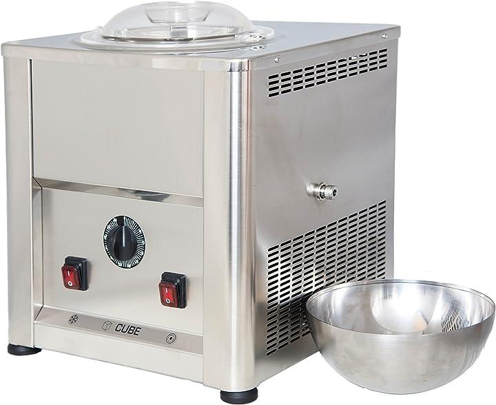 Gelatiera cube 1,5 autorefrigerante in acciaio inox aisi 304 - 316 - perfetta per la ristorazione CUBE 1.5