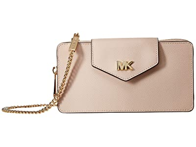 MICHAEL Michael Kors Small Convertible Phone Crossbody (Soft Pink) Handbags