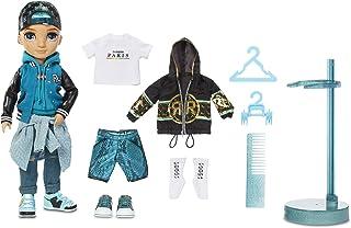Rainbow High Fashion Doll - River Kendall - Teal Themed BOY Doll, Luxury Outfits, Accessories & Fashion Doll Stand - Rainb...