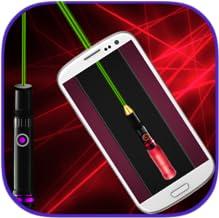 Laser Simulator Gun Flashlight Game