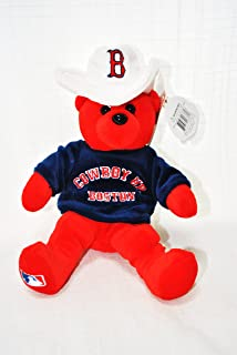 Red Sox 2004 season Cowboy UP Commerative Offical MLB Collectable Plush Bear