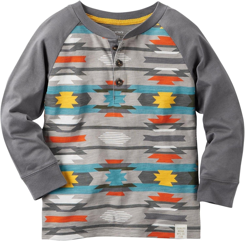 Carter's Boys' Knit Polo Henley 263g588