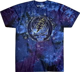 Liquid Blue Grateful Dead Mystical Stealie Celestial Tie Dye Ss Tee