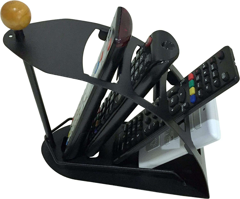 Juniper's Secret 2 Pack Remote Control Organizer Remote Caddy, Remote Storage & Holder Free Eyeglass Pouch