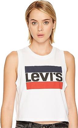 Levi's® Premium - Premium Graphic Crop Tank Top