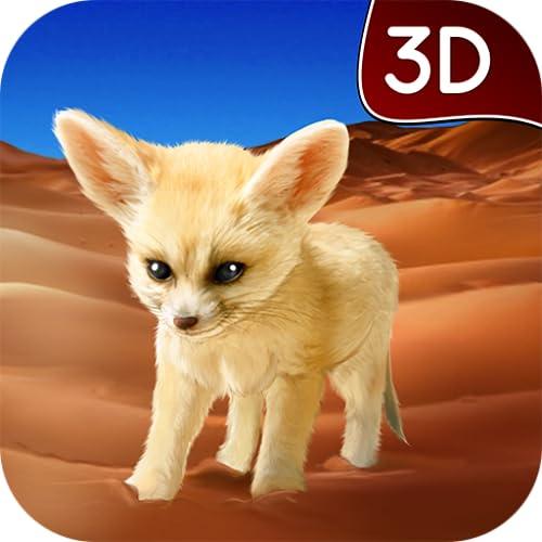 『Fennec Fox Simulator 3D: Desert Wilderness Little Beast Surviving Game』の1枚目の画像