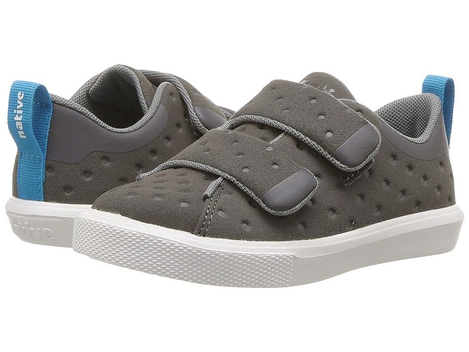 Native Kids Shoes Monaco HL (Toddler/Little Kid) (Dublin Grey/Shell White) Kids Shoes