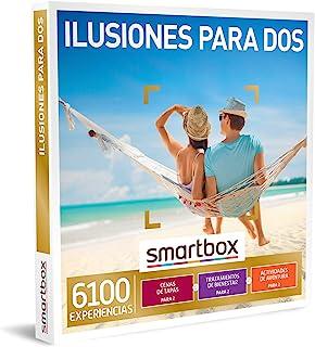 comprar comparacion SMARTBOX - Caja Regalo - Ilusiones para Dos - Idea de Regalo - 1 Experiencia de gastronomía, Bienestar o Aventura para 2 P...
