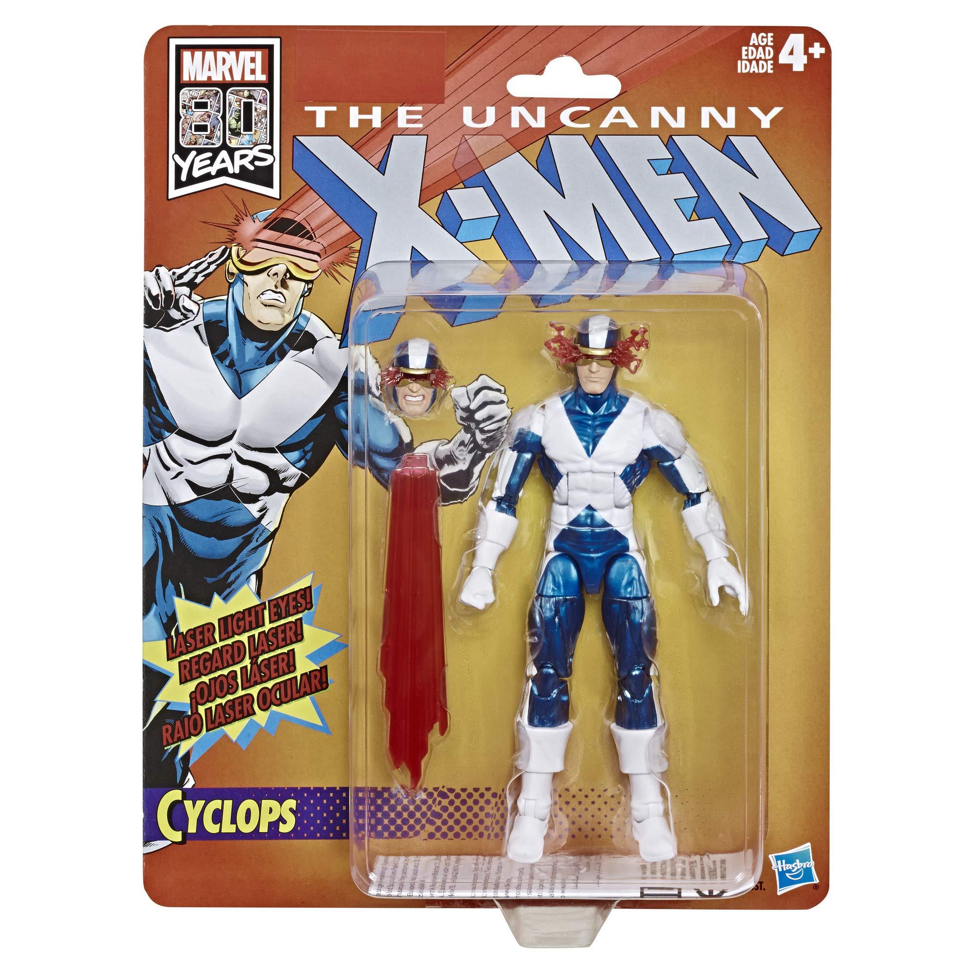 Marvel Retro Ventilador de 6 Pulgadas colección Cyclops (X-Men ...