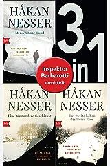 Die Gunnar Barbarotti-Reihe Band 1 bis 3 (3in1-Bundle): Mensch ohne Hund/Eine ganz andere Geschichte/Das zweite Leben des Herrn Roos: Romane (German Edition) Kindle Edition