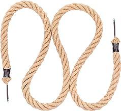 Seilwerk STANKE Jute touw 25 mm met elektrische kabel 2x0,75 voor plafondlamp, hanglamp, retro lamp, lengte 10 m