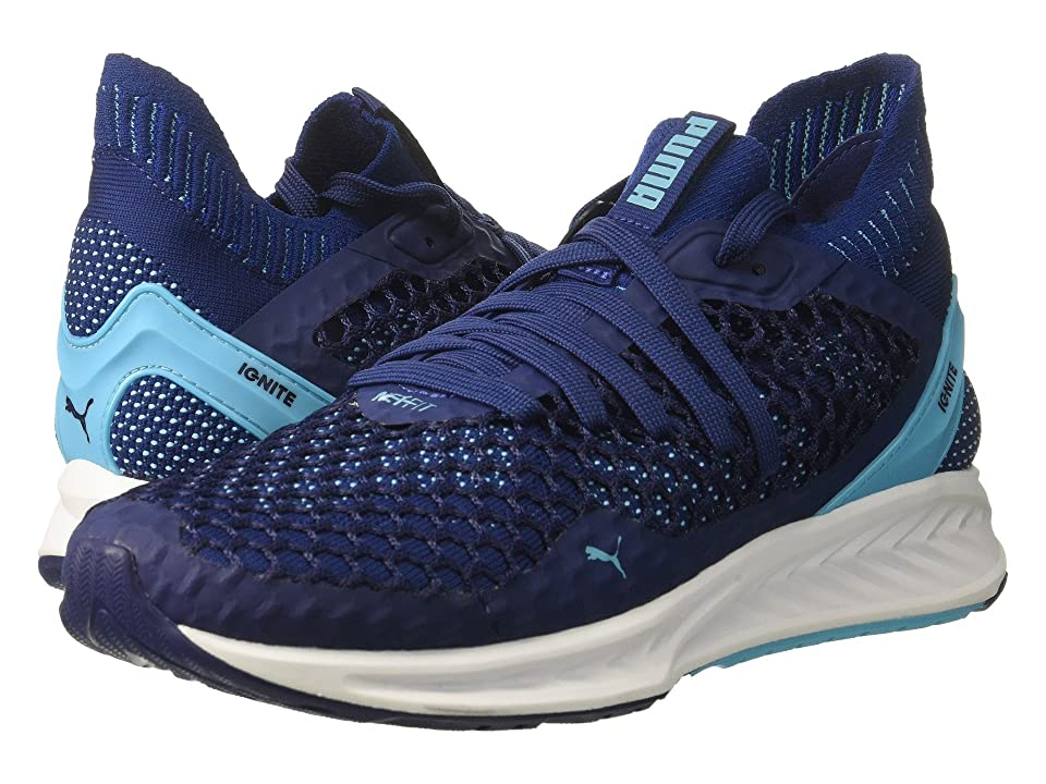 PUMA Ignite Netfit (Blue Depths/Nrgy Turquoise) Women