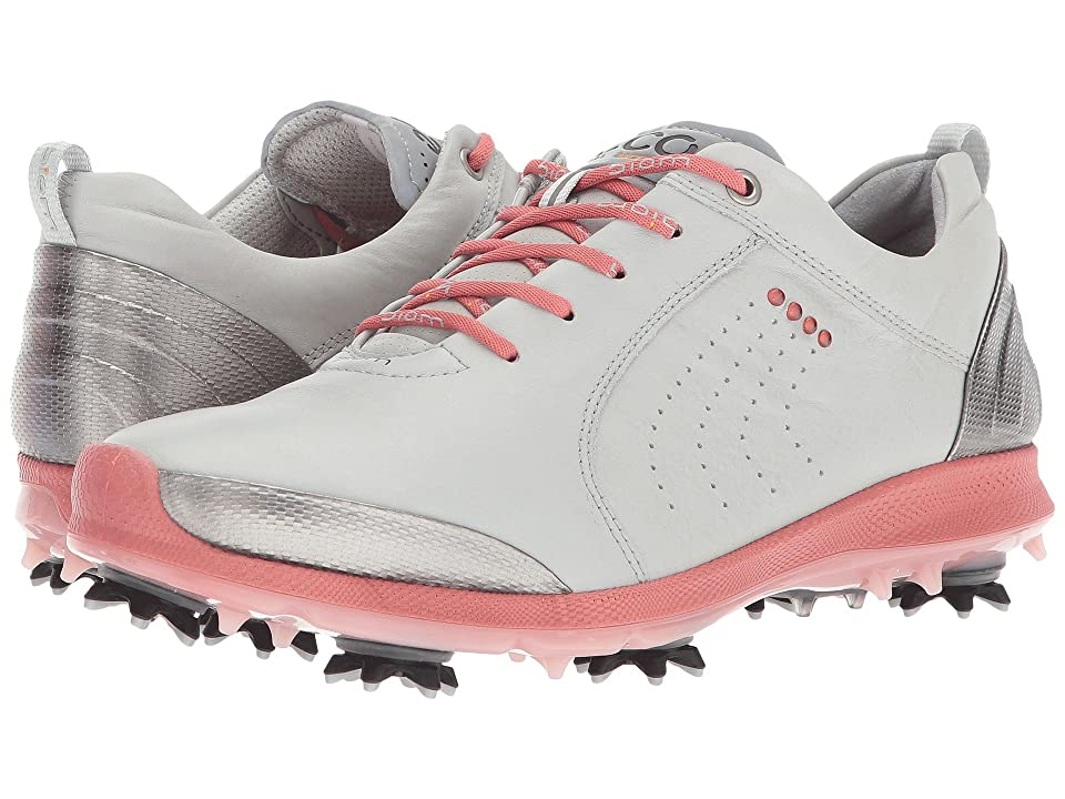 ECCO Golf BIOM G 2 Free (Concrete/Silver Pink) Women