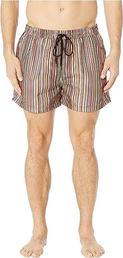 Classic Multistripe Swim Shorts