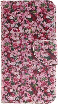 Anlike f�r Samsung Galaxy On5 / G5500 (5 Zoll) H�lle / Handyh�lle / Schutzh�lle / Ledertasche / Tasche / Case / Cover / Flip Brieftasche / Bookstyle mit Standfunktion Kredit Karteneinschub und Magnetv : B�robedarf & Schreibwaren