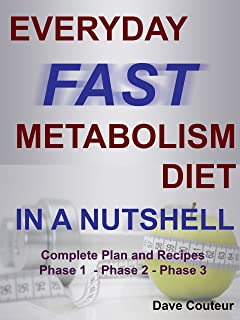 Everyday Fast Metabolism Diet In A Nutshell: Complete Plan and Recipes: Phase 1 - Phase 2 - Phase 3