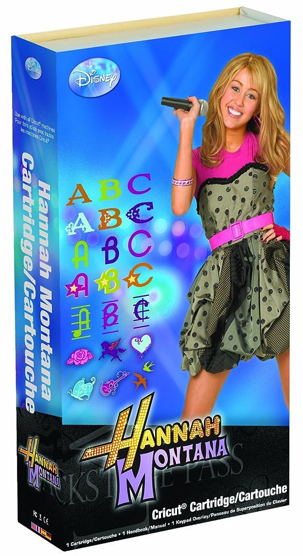 Cricut Disney Cartridge, Hannah Montana