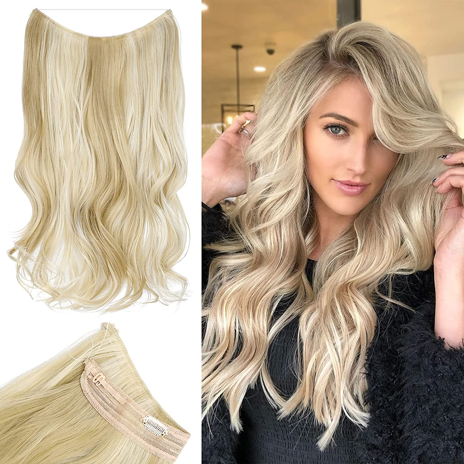 Leterly Halo Hair Japan's largest assortment Extension 20