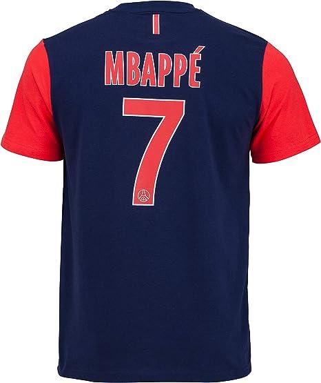Paris Saint Germain - Maglietta PSG, Kylian Mbappe n° 7 - Collezione ufficiale, taglia bambino