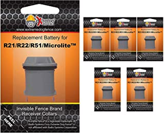 Invisible Fence Brand Compatible Collar Receiver Batteries - Designed to Fit All Invisible Fence Models of Collar and Perform Reliably to Keep Your Pet Safe
