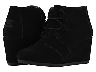 TOMS Kala (Black Suede) Women