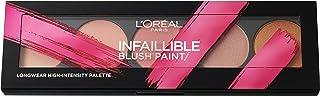 L'Oreal Paris Infallible Blush Paint Palette, Number 02, Amber