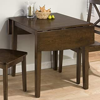 Jofran Double Drop Leaf Dining Table in Taylor Brown Cherry
