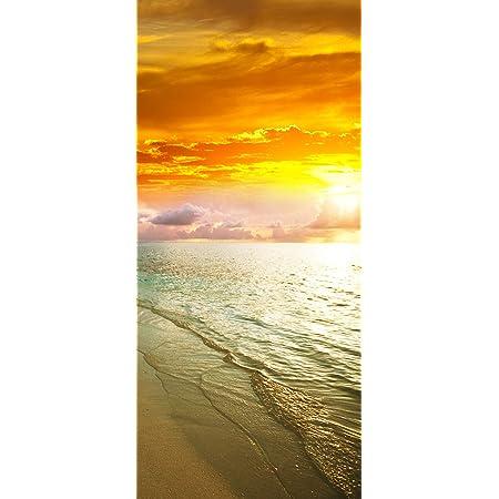 Türfolie selbstklebend Aufkleber Ablösbar Landschaften Meereswelle