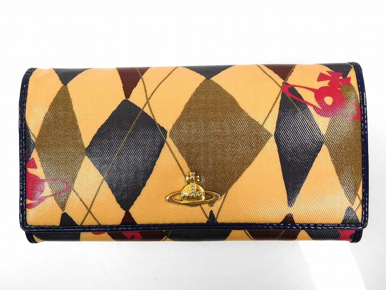 ペストリー召集する火山学者[ヴィヴィアン?ウエストウッド] Vivienne Westwood 二つ折り財布 ビニール×レザー X14420 中古