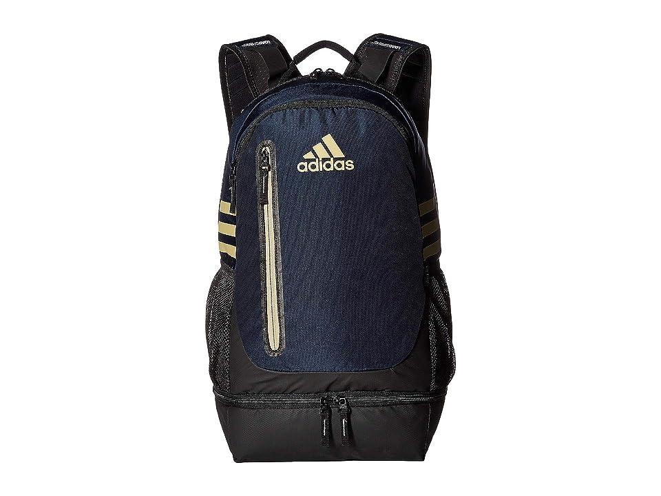 adidas Pivot Team Backpack (Collegiate Navy/Sand) Backpack Bags